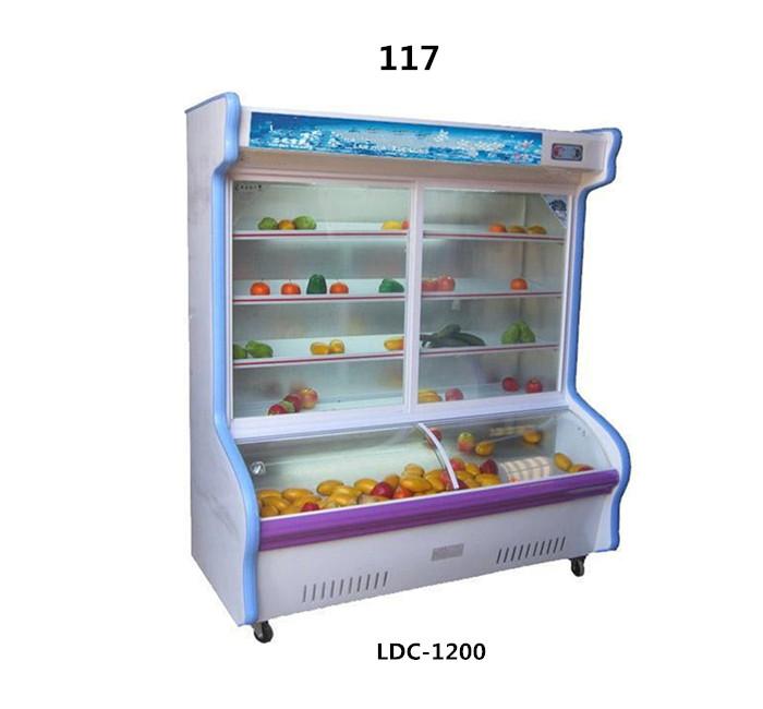 117立式点菜柜